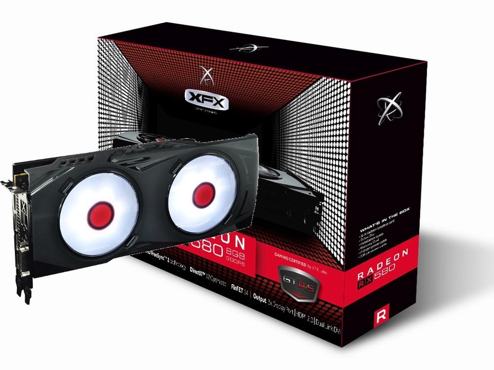 XFX Radeon RX 580 GTR-S Black Edition - White 8G
