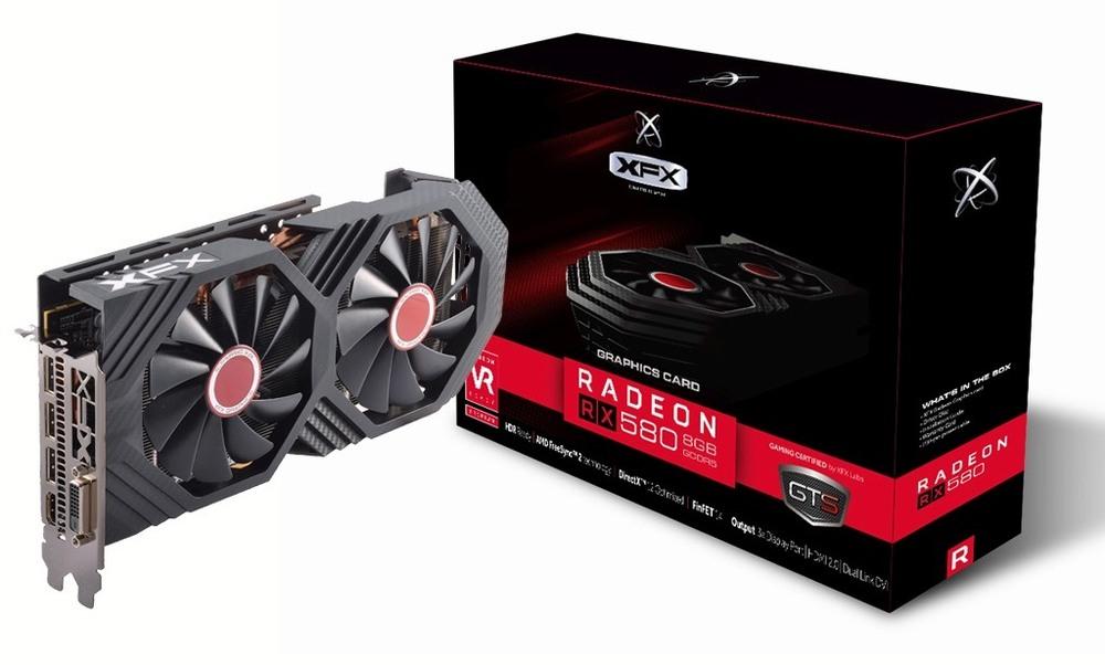 XFX Radeon RX 580 GTS Black Edition 8G