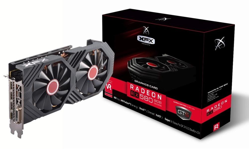 XFX Radeon RX 580 GTS Black Core Edition 8G