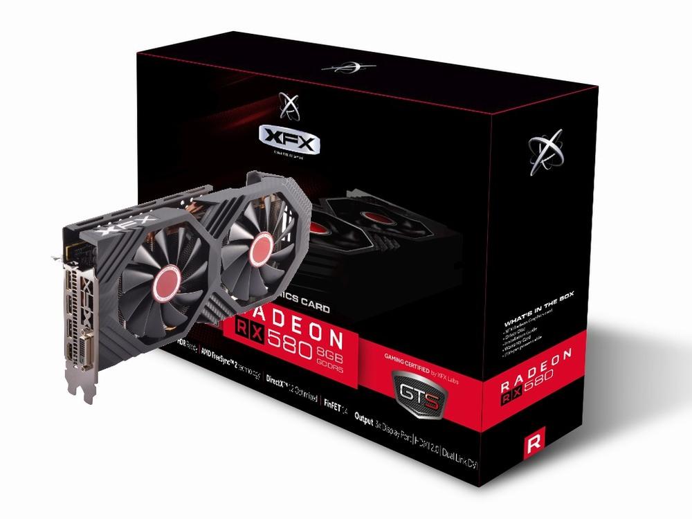 XFX Radeon RX 580 GTS XXX Edition 8G