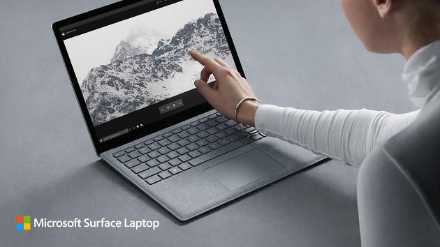 Microsoft Surface Laptop wygląd