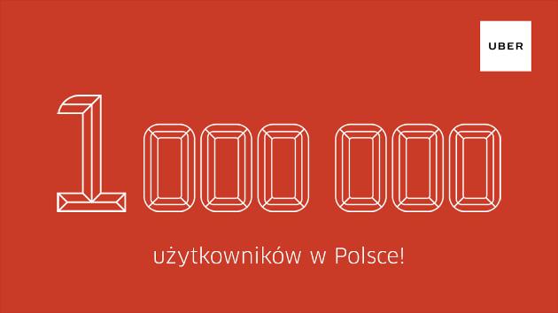 Uber Polska milion