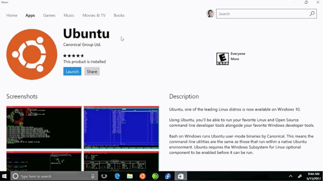 Windows Ubuntu