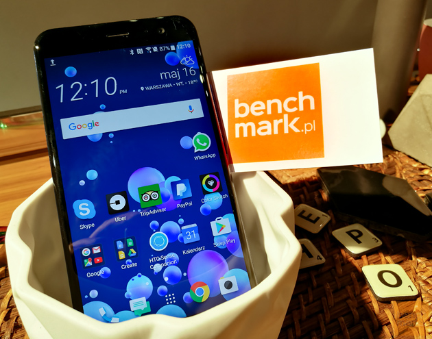 HTC U11 ekran