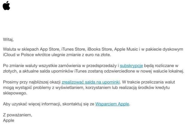 App Store zmiana cen