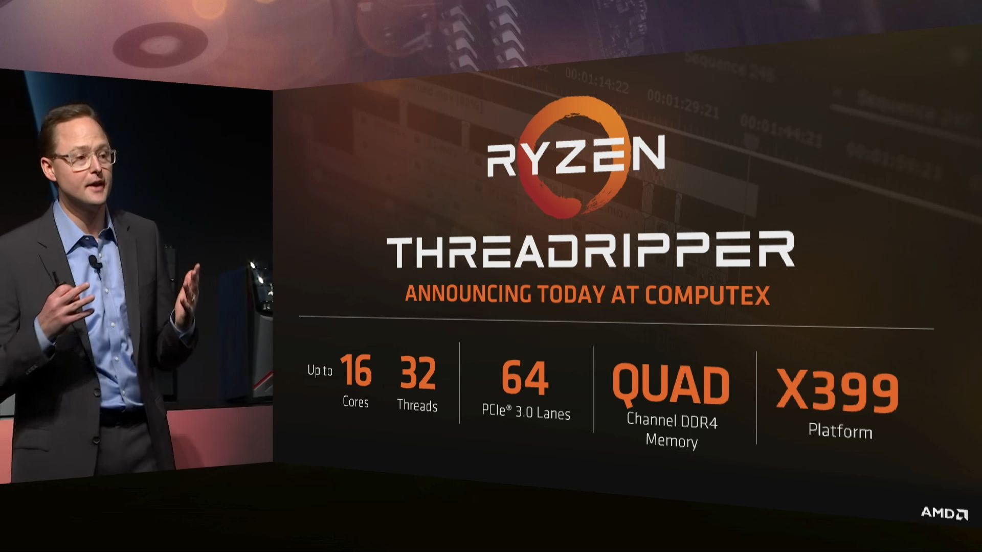 AMD Ryzen Threadripper - slajd
