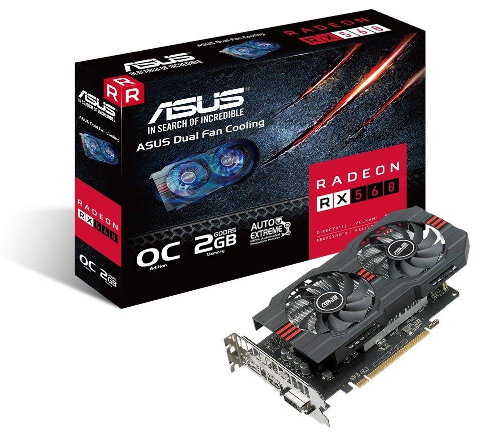 ASUS Radeon RX 560 Dual Fan OC 2G