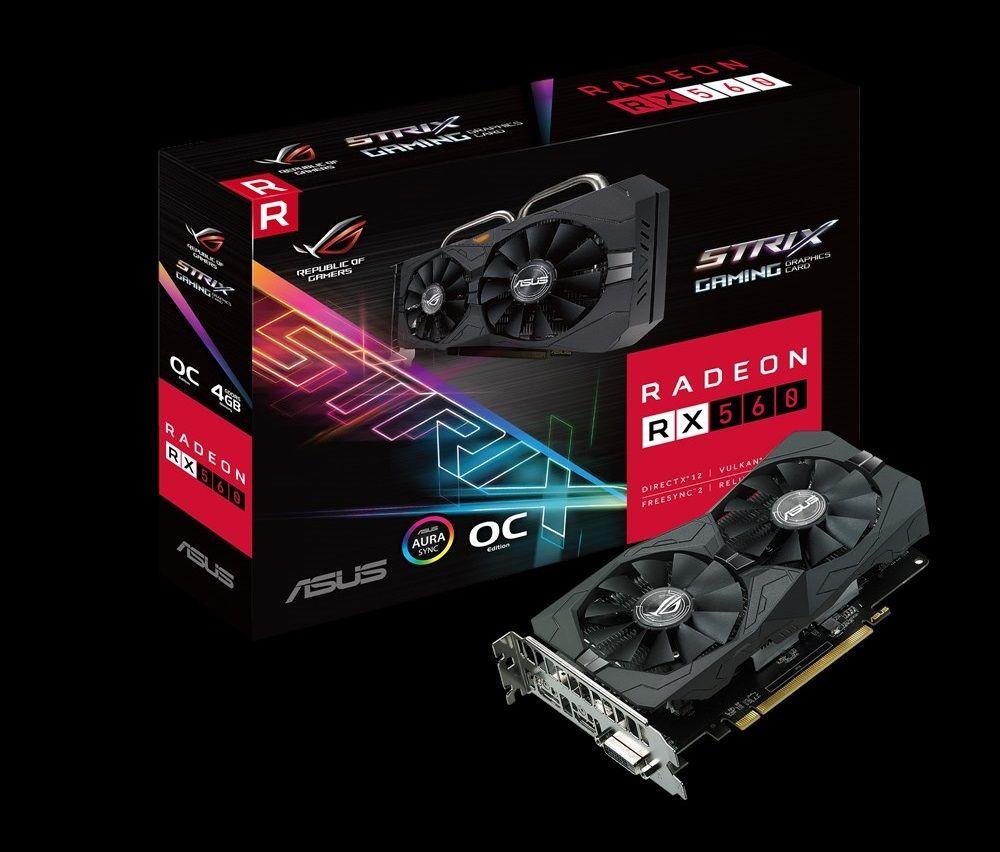 ASUS Radeon RX 560 Strix 4G