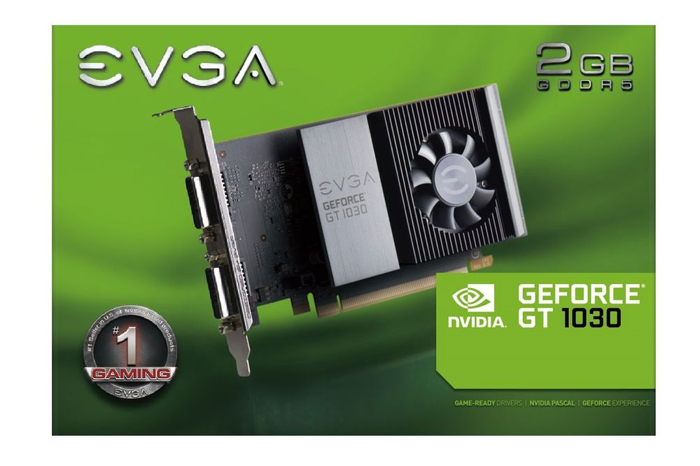EVGA GeForce GT 1030 SC Single Slot
