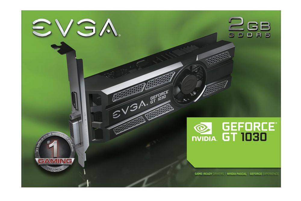 EVGA GeForce GT 1030 SC Low Profile