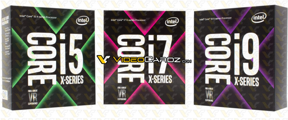 Intel Core i5, Core i7 i Core i9 - pudełka