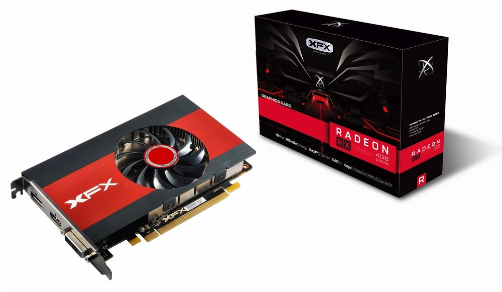XFX Radeon RX 560 Slim Single Slot