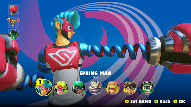 ARMS postacie