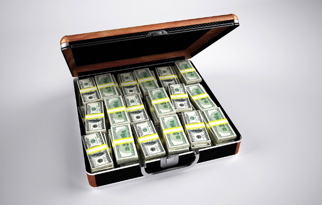 dolary walizka