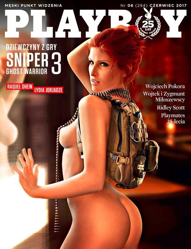 Playboy Raquel okładka