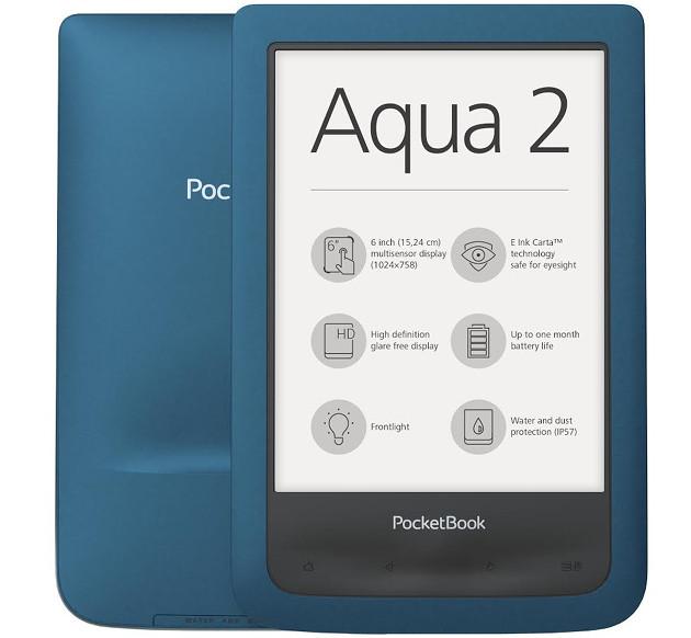 PocketBook Aqua 2 wygląd
