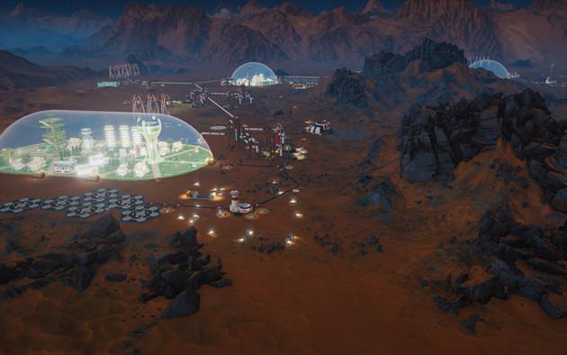 Surviving Mars miasto
