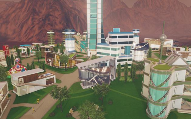 Surviving Mars osada