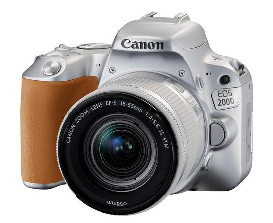 Canon EOS 200D srebrny