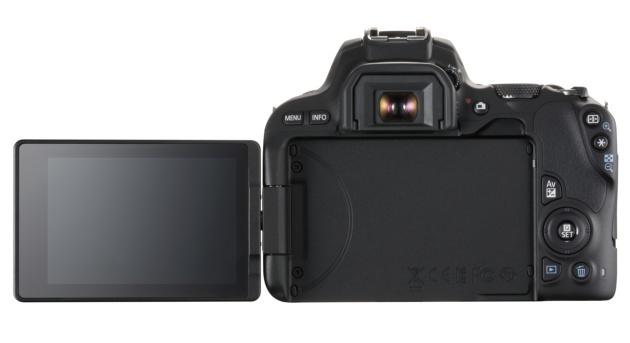 Canon EOS 200D tył LCD