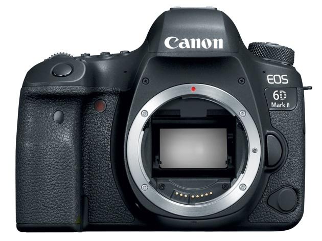 Canon EOS 6D Mark II lustro