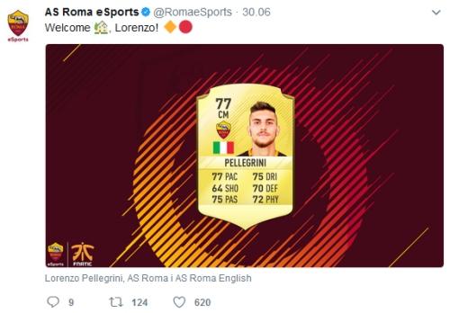 FIFA 17 AS Roma transfer