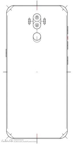 Galaxy Note 8 schemat