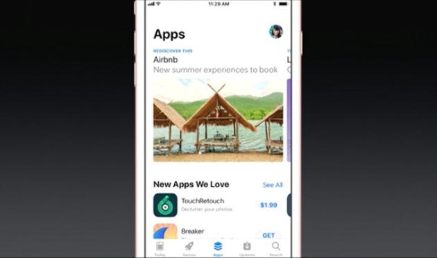 iOS 11 sklep