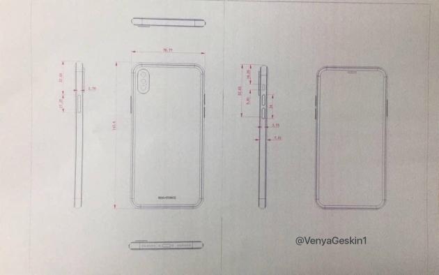 iPhone 8 schemat