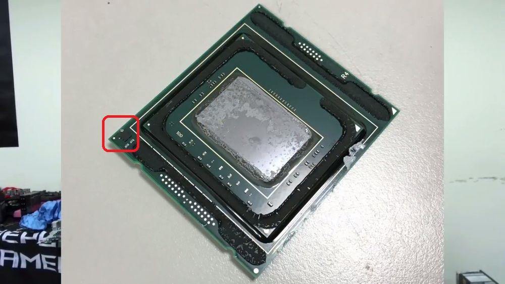 Intel Core X - Skylake-X PCB