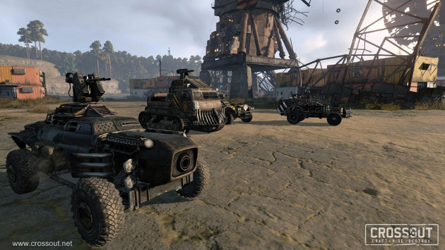 Crossout gra screen auta