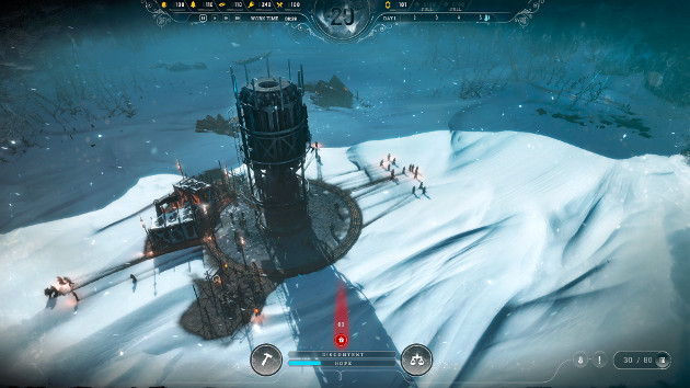 Frostpunk gra screen ekran