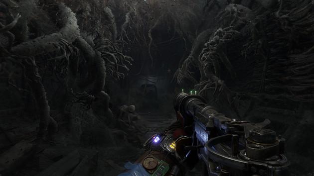 Metro Exodus gra screen broń