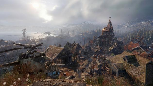Metro Exodus gra screen miasto