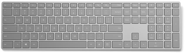 Microsoft Modern Keyboard klawiatura wygląd