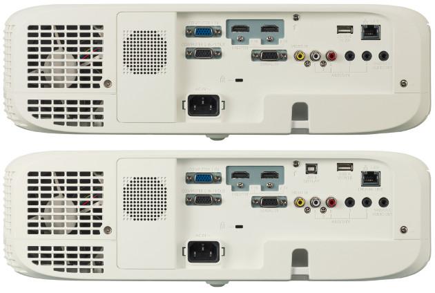 Panasonic PT-VZ580 tył