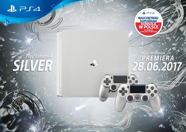 PS4 srebrne
