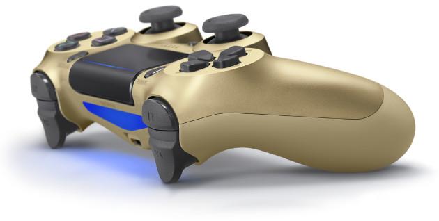 PS4 złote