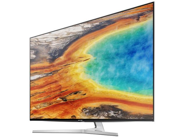 Samsung MU8002 telewizor bok