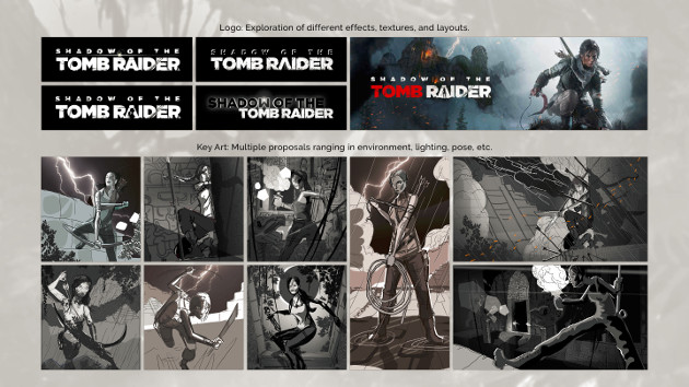 Shadow of the Tomb Raider przeciek koncepty