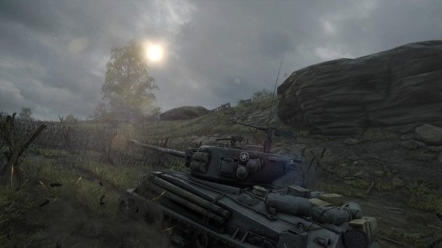 World of Tanks 4K screen Fury