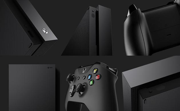 Xbox One X wygląd
