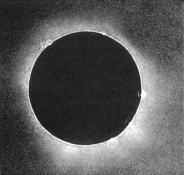 Pierwsze zaćmienie Słońca