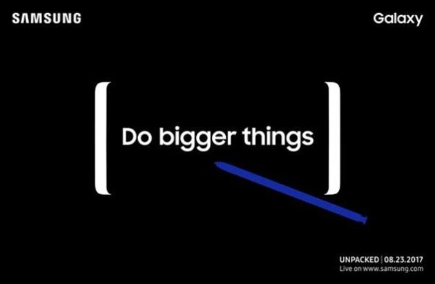 Galaxy Note 8 zapowiedź