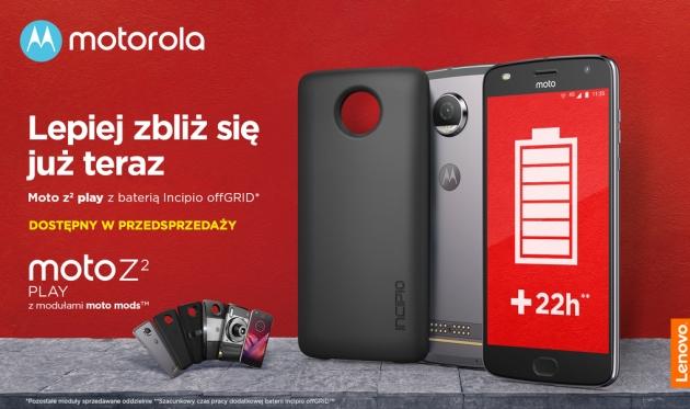 Moto Z 2 Play przedsprzedaż
