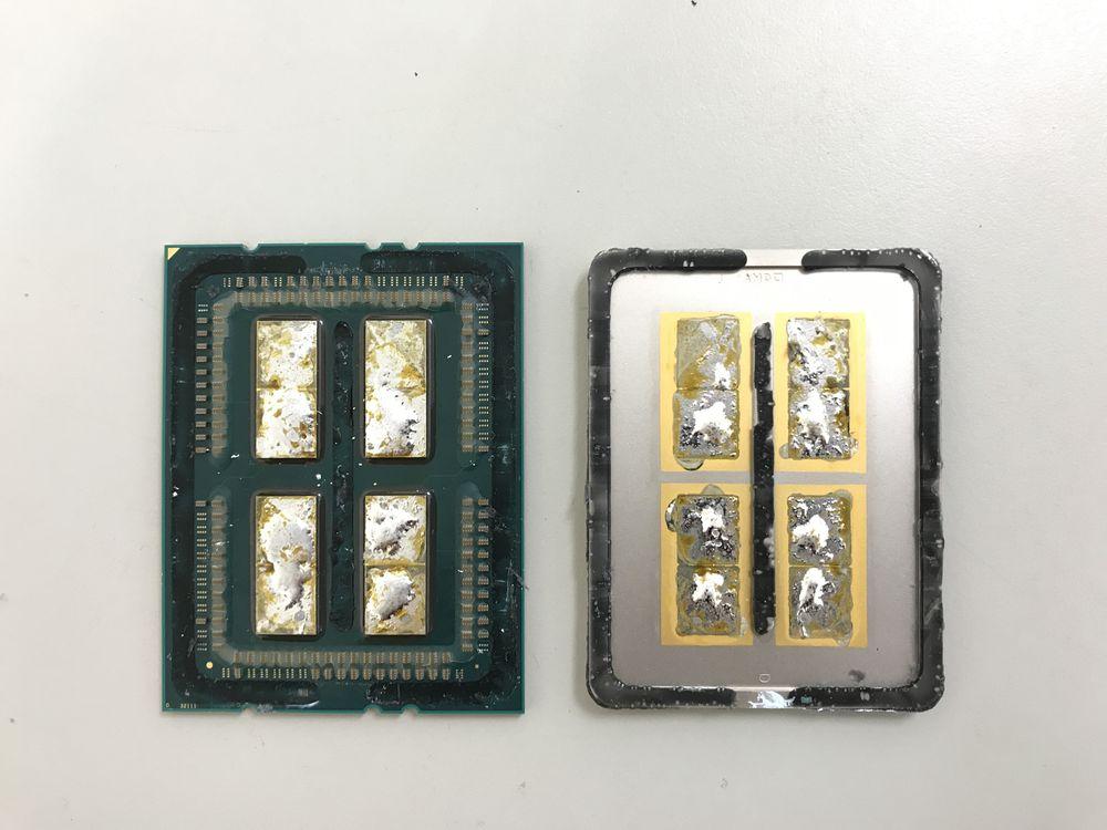 AMD Ryzen Threadripper 1950X - delidding