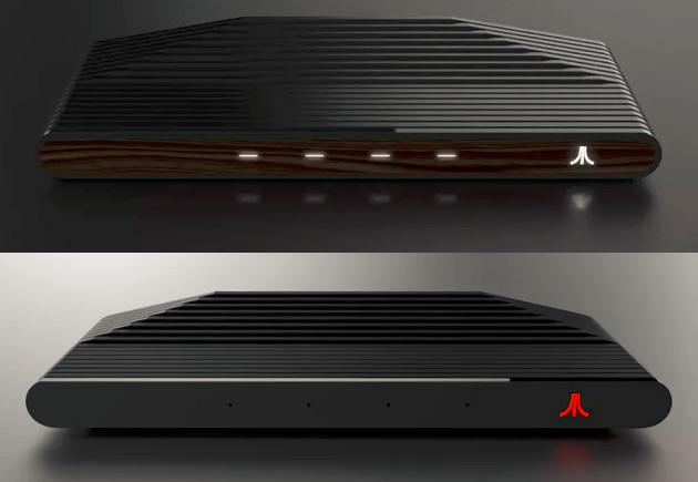 Ataribox konsola wygląd