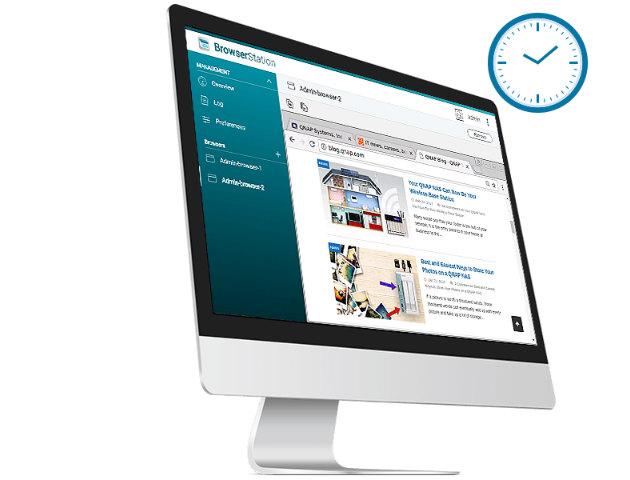 Browser Station ekran