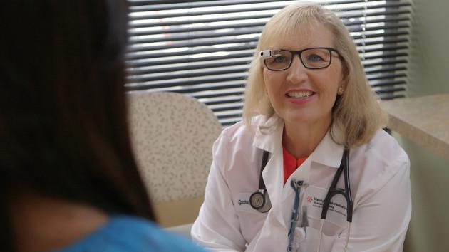 Google Glass EE lekarz