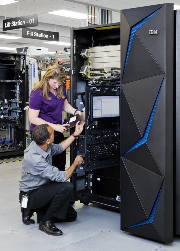 IBM z14 wnętrze